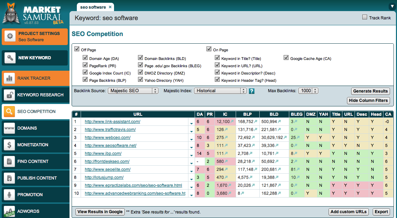 Software marketing download